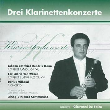 Drei Klarinettenkonzerte (Grandi concerti per clarinetto)