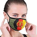 longdai Staubmaske für Erwachsene, alte DDR Flagge, Unisex, wiederverwendbar, Nackenschutz, Sturmhaube, wiederverwendbar, multifunktionale Maske für Damen und...