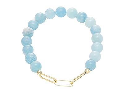 Dee Berkley Linked Together Aquamarine Bracelet