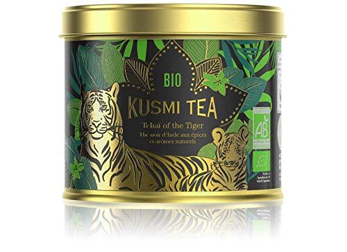 Kusmi Tea – Tchaï of the Tiger Bio – Schwarztee in Zusammenarbeit mit dem WWF – Metalldose mit 100 g