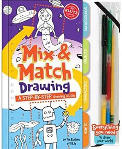 Klutz Mix and Match Drawing by Klutz