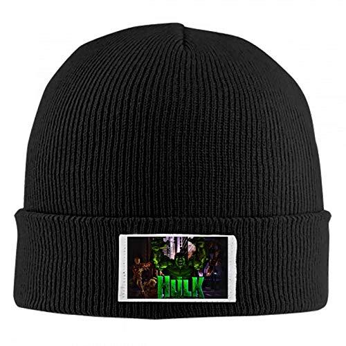 989 Hu-l-k Invierno Lana Beanie Hat Bufanda Caliente Tejer Diadema Grueso Gorro para Exterior