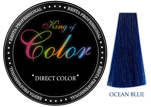 Resta Professional King of Color Direct Coloration Ocean Blue 100 ml