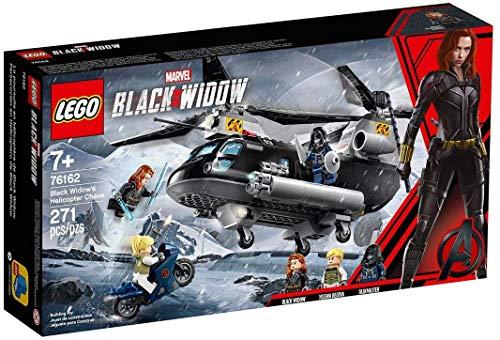 Lego Super Heroes Perseguição de Helicóptero de Black Wido 76162