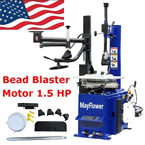 Mayflower - Automatic Assist Arm Tire Changer Wheel Changers Machine Rim Clamp 960 Bead Blaster / 1 Year Full Warranty