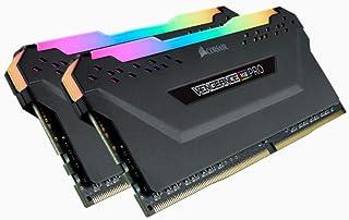 Corsair VENGEANCE RGB PRO 32GB (2x16GB) DDR4 3200MHz C16 Desktop Memory - Black, CMW32GX4M2E3200C16
