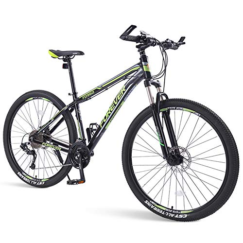NENGGE 33-Speed mountainbike, heren Dual Disc Brake aluminium frame hardtail mountainbike, mountainbike met voorwielophanging