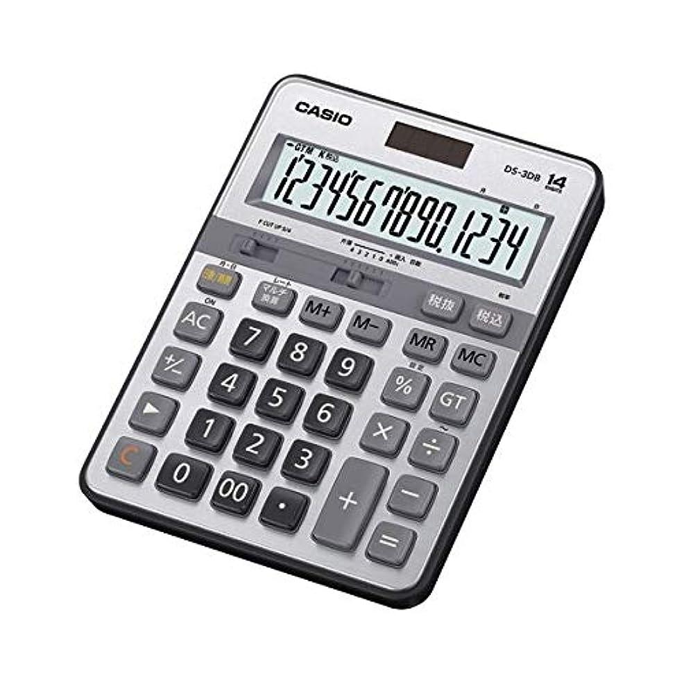 薬理学平らにする挨拶カシオ 実務電卓 デスクサイズ 14桁 DS-3DB 生活用品 インテリア 雑貨 文具 オフィス用品 電卓 14067381 [並行輸入品]