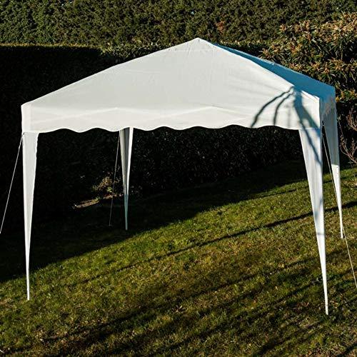 WerkaPro 8912 - Tente Pliable - 3 x 3 m - Pliable - Tonnelle - Blanche