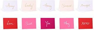 Assorted Box Set of 10 Blank Note Cards - Love Set