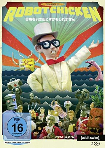 Robot Chicken: Staffel 03 [2 DVDs]