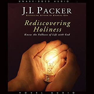Rediscovering Holiness audiobook cover art