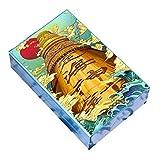 ZXCV Caja De Cigarrillos De Aluminio Ligero Caja De Cigarrillos Porta-Tabaco Contenedor De Almacenamiento Cajetillas para Cigarrillos