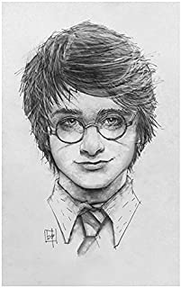 Lightning bolt, lightning bolt, lightning bolt Giclee print of Harry Potter pencil drawing