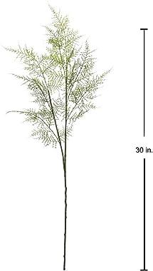 Lot de 3 plantes artificielles de fougère de Boston - Plantes artificielles pour intérieur, maison, jardin, centre de table,