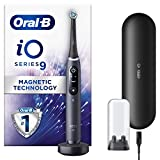 Oral-B iO9 Black Ultimate Clean Electric Toothbrush for Adults, Revolutionary Magnetic Technology, Colour Display, 1 Toothbrush Head, 1 Charging Travel Case, 7 Modes, Gift for Men/Women, 2020 Edition