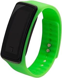 Moda deportes reloj de pulsera electr¨®nica LED reloj de