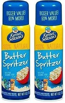 Kernel Season s Movie Theater Butter Popcorn Spritzer Spray 4 Oz 2 pack