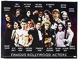 777 Tri-Seven Entertainment Famous Bollywood Actors Poster Hindi Movie Indian Actress Art Print, 24' x 18'