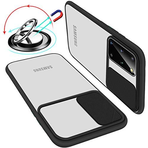 UNIOTEK Funda con Tapa Deslizable para Cámara Compatible con Samsung S20 Ultra...