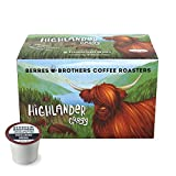 Berres Brothers Highlander Grogg Coffee K Cups K Pods, 12 Count Single Serve Pods for Keurig K Cups Coffee Makers, Flavored Coffee, Medium Roast, Gourmet Caffeinated Coffee, Roasted Coffee