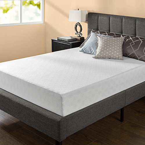 Zinus 10 Inch Gel-Infused Green Tea Memory Foam Mattress, Twin