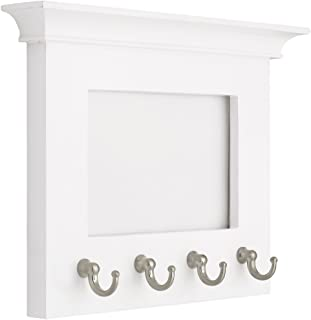 LIBERTY PFKEYR-WSN-R Picture Frame with 4 Key Hooks, 6