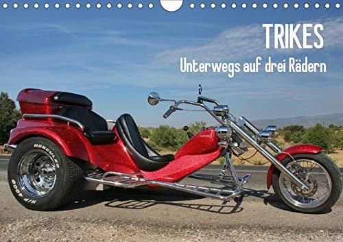 Trikes - Unterwegs auf drei Rädern (Wandkalender 2020 DIN A4 quer): Ein Motorisiertes Dreirad (Monatskalender, 14 Seiten ) (CALVENDO Mobilitaet)
