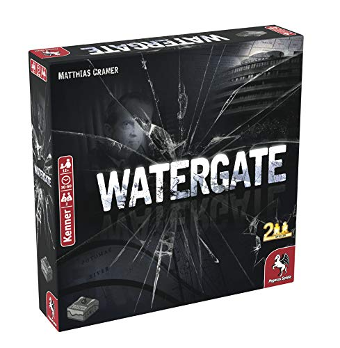 Pegasus Spiele 57310G Watergate (Frosted Games)