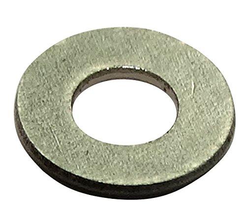 Aerzetix: 100 x platte sluitring M1.6 ≦4 mm H0.3mm DIN125A roestvrij staal A2 C19017