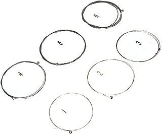 Juego de Piezas de Repuesto de Cuerdas de aleaci/ón de n/íquel para Guitarras ac/ústicas cl/ásicas de 4 Cuerdas 0.45-100 Bnineteenteam Juego de Cuerdas de Guitarra