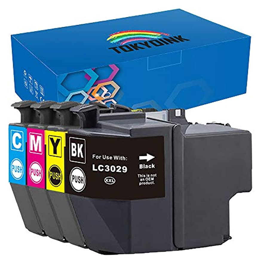 LC3029 Replacement for LC3029 Super High Yield Ink Cartridges Work with MFC-J5830DW MFC-J6535DW MFC-J6935DW MFC-J5930DW MFCJ5830DWXL MFCJ6535DWXL Printer 5-Pack