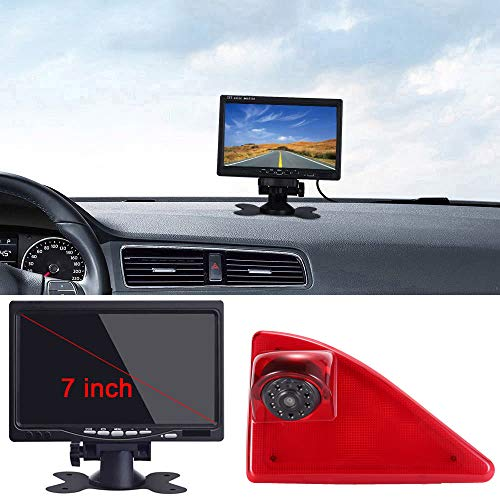 Kalakus Rückfahrsystem mit Rückfahrkamera im 3. Bremslicht Bremsleuchte Kamera+7