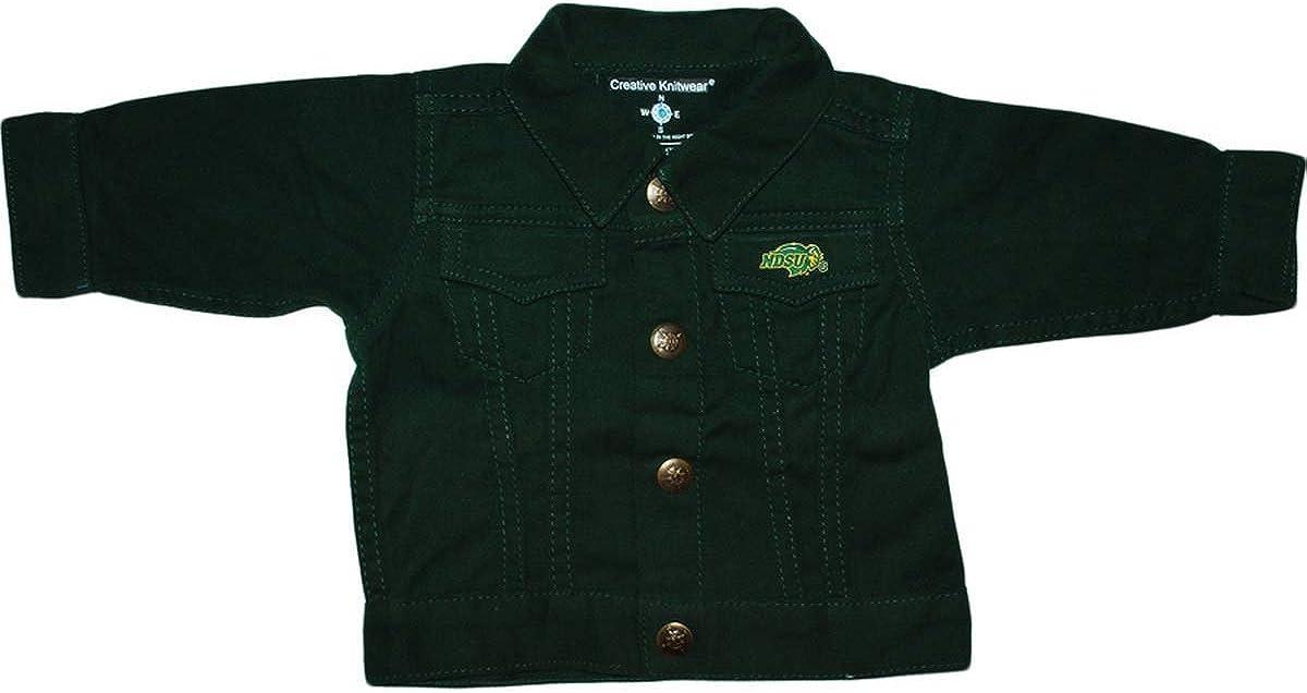 Creative Knitwear North Max 49% OFF New Orleans Mall Dakota University Denim Jacket State