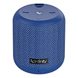 Infinity (JBL) Fuze 100 Deep Bass Dual Equalizer IPX7 Waterproof Portable Wireless Speaker (Mystic Blue)