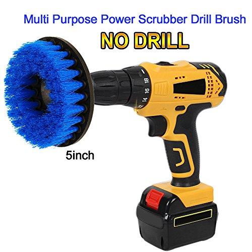 oxoxo Power Scrubbing Brush Perceuse de nettoyage de douche, baignoire, badezimmern, carrelage, fugenm ? rtel, Tapis, pneus, bateaux 5\