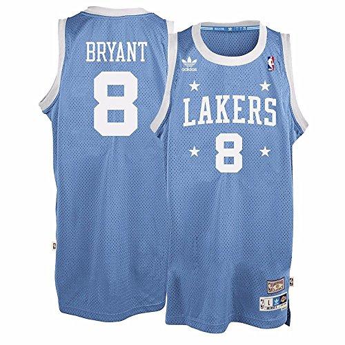 Kobe Bryant Los Angeles Lakers Adidas NBA Throwback Swingman Jersey Trikot - Light Blue