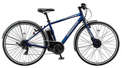 TB7B41 TB1e ティービーワンe ブリヂストン 2021モデル MXオーシャンブルー 14.3Ah相当 3年盗難補償付 通学 通勤 電動クロスバイク