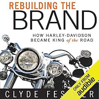 Rebuilding the Brand audiobook cover art