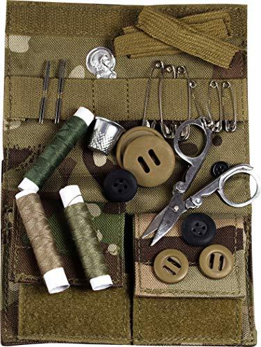 Web-tex - Set de Costura ultrarresistente - Cordura de Nailon de 1000 Denier - Uso Militar