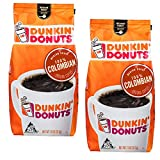 Dunkin Donuts Colombiano Ground Caffè - (Per sacco 2 pacchi) - tostatura media Colombia Kaffee, 311...