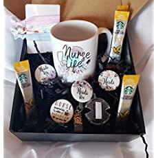 Badge Reel Interchangeable Personalized RN Gift Box Sunshine Box Stethoscope ID Tag