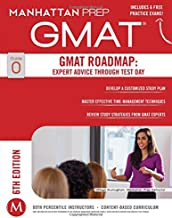 GMAT Roadmap: Expert Advice Through Test Day (Manhattan Prep GMAT Strategy Guides)