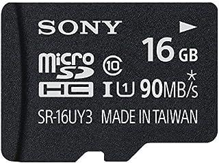 Sony SR16UYA - Tarjeta MicroSD de 16 GB (UHS-I, clase 10,