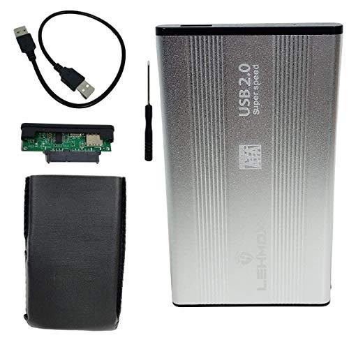 Case de Hd 2.5 Externa Sata Notebook Pc Xbox Usb 2.0 LEHMOX LEY-33 Sortidos