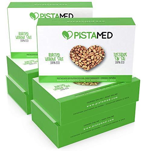 Pistachos ecológicos PISTAMED - 600 gramos. Tostado artesan