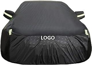 HWHCZ Autoplanen Autoabdeckung funktioniert mit Volkswagen EOS Autoabdeckung  Allwetter Wasserdichter Schutz vor Regen Staub Wind Sonne UV  Drinnen draußen