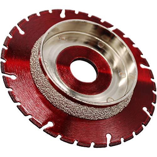 PREMIUM Diamant-Trennscheibe Anfasscheibe 125 mm x 22,23mm zum Trennen und Anfasen geeignet für HT KG Rohre GFK CFK Kunststoffe passend für Winkelschleifer 125mm