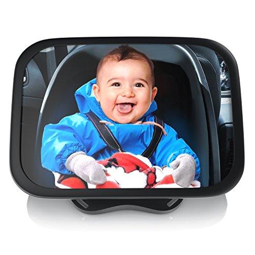 Aplic - Specchietto retrovisore per bambini su poggiatesta - Specchio per ovetto neonati
