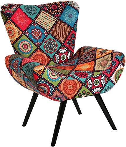 SuskaRegalos - Sillon Patchwork Colores - 72x70x83cm